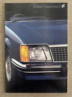 1981 Holden Commodore II original Australian sales brochure (4/81)