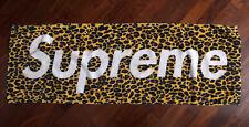 SUPREME NY  BOX LEOPARD PRINT TOWEL (S/S 2009  VOLUME 5)
