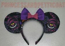 Cheshire Cat Inspired Mouse Ears Headband and Bow by PrincessandPetticoat