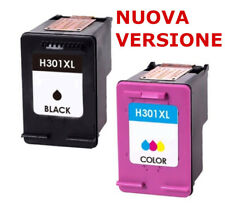 2 CARTUCCIA PER HP 301XL Deskjet 2544 2540 1010 3050 1510 2510 ENVY 4500 4504 BL