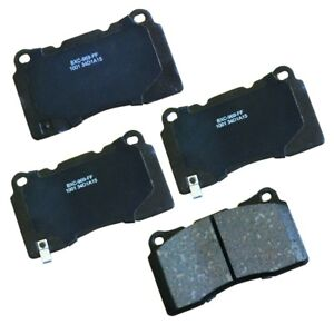 Disc Brake Pad Set-Stop Ceramic Brake Pad Front Bendix SBC1001