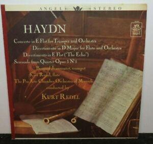 KURT REDEL HAYDN CONCERTO IN E FLAT TRUMPET & ORCHESTRA (VG+) LP VINYL RECORD