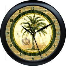 Personalized Palm Tree Kitchen Wall Clock Gift