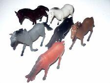 Pferdeset 6 Pferde Bauernhofpferde Pferdefamilie Reitpferde Spielzeugpferde