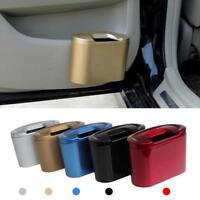 Vehicle Auto Car Mini Trash Rubbish Can Garbage Dust Case Holder Box Bin Hook