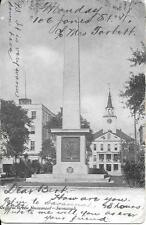 General Green Monument Savannah Ga nice postcard postally used in 1905