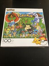Pokemon 100 Piece Jigsaw Puzzle-Nintendo- Buffalo Games *NEW*