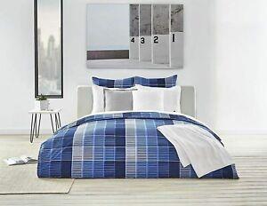 Lacoste Home Full/ Queen  Albe Navy Comforter Set