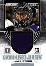 2013-14 Between the Pipes Jersey Silver #40 Jamie Storr