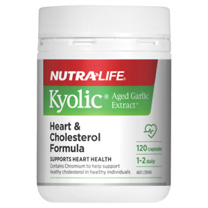 Nutra-Life NutraLife Kyolic Aged Garlic Extract 120 Caps Odourless Exp 11/2022