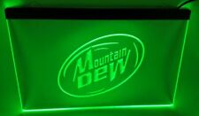 mountain dew Bar Beer pub club 3d signs Led Neon Sign green