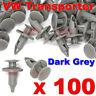 100 VW TRANSPORTER T4 T5 T6 LONGER LONG TRIM PANEL CLIPS DARK GREY CARPET LINING