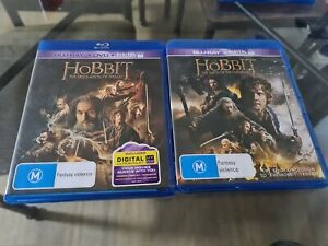 The Hobbit 2 & 3 The Desolation Of Smaug & The Battle Of The Five Armies Blu Ray