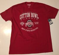 Ohio State 2017 Cotton Bowl Championship T-Shirt New With Tags Size 2XL Red 🏈