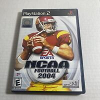 NCAA Football 2004 (Sony PlayStation 2, 2003) PS2 Complete Video Game Free Ship