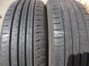 215/60/17/96/H Sommerreifen Conti 2 Stück gebraucht Profil 8 mm