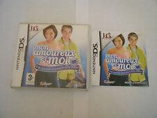 Mon Amoureux Et Moi - Nintendo DS - Complet - PAL FR