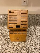 23 slot j.a. henckels knife block