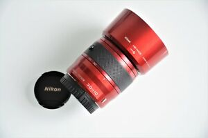 Nikon 1 NIKKOR 30-110mm f/3.8-5.6 VR IF ED Lens (Red) #5341