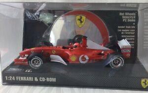 Hot Wheels Racing Ferrari VelocityX PC Model 1:24 CD-Rom Metal Collection V317