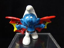 Smurfs Hang Glider Smurf Flying Rare Vintage Display Toy Schleich Peyo