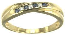 Ringe mit Edelsteinen für Hochzeiten echten Saphir