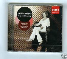 CD NEW SABINE MEYER OLEG MAISENBERG DEVIENNE POULENC MILHAUD SAINT SAENS