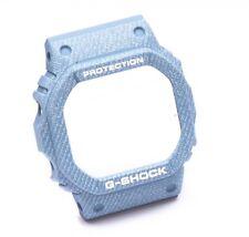 Reloj Original Casio Bisel caso para G-shock DW-5600DC-2 10516284 mirada Denim