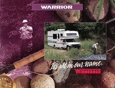 Winnebago-Warrior-Prospekt-Brochure - 1993-usa - English-NL-venta por correspondencia