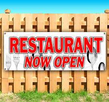 Restaurant Now Open Advertising Vinyl Banner Flag Sign Many Sizes Usa