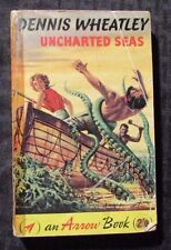 1960 UNCHARTED SEAS by Dennis Wheatly 1st Arrow UK Paperback VG-