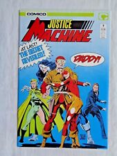 Justice League No. 9 Sept. 1987 Comico The Comic Company First Printing NM (9.4)