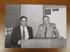 Vtg Glossy Press Photo Natick MA Metrowest Hospital Annual Lyons Lecture Chairs