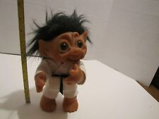 "VINTAGE THOMAS DAM 9"" KARATE/FIGHTER TROLL DOLL MADE IN DENMARK 1977 CLEAN"