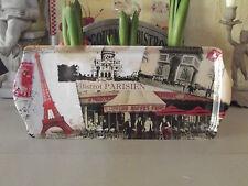 plateau 33*14 cm «bistrot parisien» orval creations