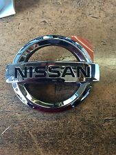 NEW OEM NISSAN MAXIMA 2002 REAR TRUNK EMBLEM - NISSAN LOGO - CHROME