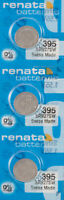 3 x Renata 395 Watch Batteries, SR927SW Battery | Shipped from USA