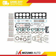Full Gasket Set Head Bolts Fit 07-11 Gmc Chevrolet 6.0 Cadillac 6.2 Ohv