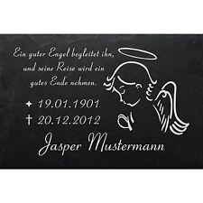 Fotogravur◄ 60 x 30cm GRABPLATTE Grabmal Grabschmuck Grabstein-006 ►Aufschrift