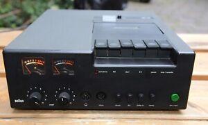 Braun Tapedeck Cassetten Deck TGC 450 Dolby System Cassettenspieler Design Klass