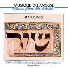 Chir Hachirim Cantique De, David, Jean, Good Import