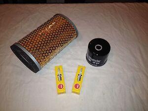 Triumph Thruxton 865 Carb Service Kit Oil Filter Genuine Air Filter Spark Plugs
