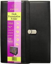 Dossier de présentation A4 Conférence pour reliure à anneaux-dessus de bureau tri fold display easel