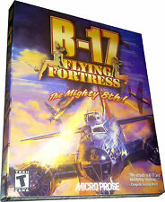 B-17 Flying Fortress for PC **Rare** Large Box NEW!! - Mint in Sealed Box - MISB