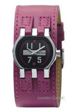 Bruno Banani Damenuhr ZENO LADIES BR20986 Leder Pink Damen Uhr NEU