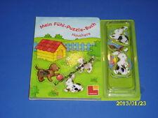 Mein Fühl-Puzzle-Buch Haustiere - Fühlbuch und Puzzle