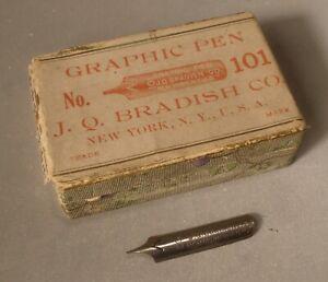 Vintage Pen Nibs in Box