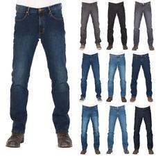Wrangler Herren Jeans Arizona Jeanshose Regular Fit Blau Schwarz Grau w30 - w46