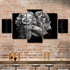 Modern Home Canvas Wall Decor Art Painting Picture Print Marilyn Monroe 5 pcs US
