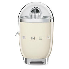Smeg Cream CJF01CRUK Retro 50s Style Citrus Juicer 2 Year Guarantee